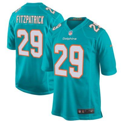 Men's Miami Dolphins Minkah Fitzpatrick Nike Aqua Game Jersey
