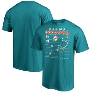 Miami Dolphins Miami Miracle X's and O's T-Shirt