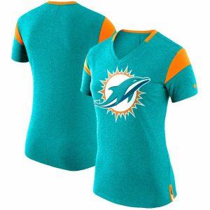 Miami Dolphins Nike Women's Fan V-Neck T-Shirt