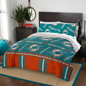 Miami Dolphins The Northwest Company 5-Piece Queen Bed in a Bag Set