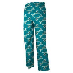 Miami Dolphins Toddler Allover Logo Pants