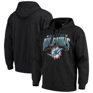 Miami Dolphins G-III Sports by Carl Banks Perfect Season Full-Zip Hoodie